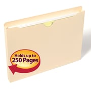 "Smead® File Jacket, 1"" Expansion, Letter Size, Manila, 50/Box (75439)"