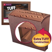 Smead®  TUFF® Expanding File, Monthly (Jan.-Dec.) 12 Pockets, Letter Size, Redrope-Printed Stock (70488)
