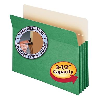 Smead® File Pocket, Straight-Cut Tab, 3-1/2