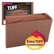 Smead®  TUFF® Expanding File, Monthly (Jan.-Dec.) 12 Pockets, Legal Size, Redrope-Printed Stock (70490)