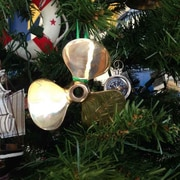 Handcrafted Nautical Decor RMS Titanic Brass Propeller Christmas Tree Ornament