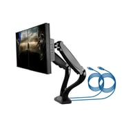 Ergomax Office LCD VESA Universal Tilt 2 Screen Desk Mount