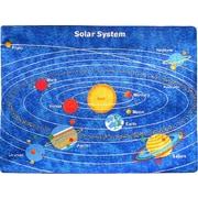 Sintechno Inc Planets Solar System Area Rug