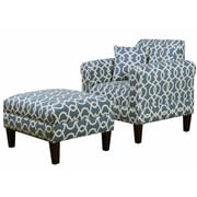 Carolina Accents Briley Emory Armchair; Pewter