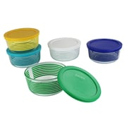 Pyrex 10 Piece Simply Store Decorated Food Storage Set