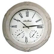 Seth Thomas 24.63'' Polyfiber Solar Clock