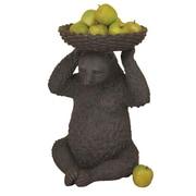 ExpoDecorLLC Sitting Bear Holding Basket