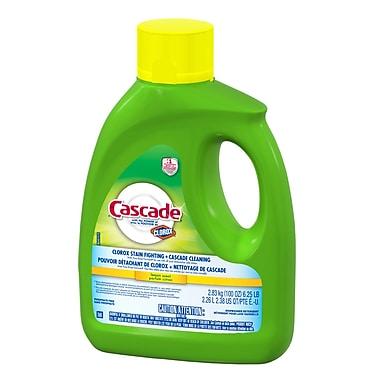 Cascade Dishwasher Detergent, Liquid, Lemon