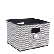 Household Essentials Deluxe Open Fabric Cubes & Bins