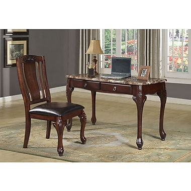 Best Quality Furniture Writing Desk W Chair Set Staples