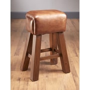 AA Importing 29.5'' Bar Stool; Leather