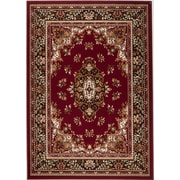 Rug and Decor Inc. Chateau Red Area Rug; 1'10'' x 2'11''