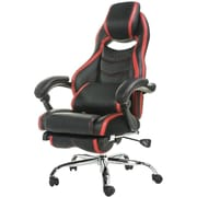 Merax High-Back Executive Chair; Black/Red