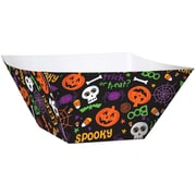 "Amscan Spooktackular Paper Serving Bowl, 5"" x 9.25"" x 9.25"", 3/Pack, 3 Per Pack (430254)"