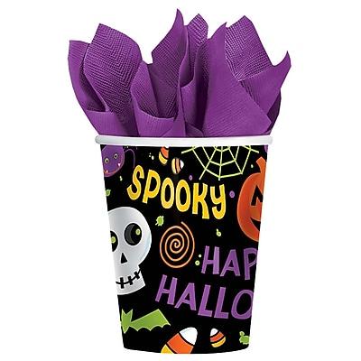 Amscan Spooktacular Paper Cup, 9oz, 2/Pack, 50 Per Pack (689484) 2465737
