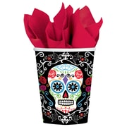 Amscan Day of the Dead Paper Cup, 9oz, 3/Pack, 18 Per Pack (731519)