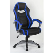 Inland ProHT High-Back Executive Chair; Royal Blue/Black