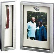 FashionCraft 2 Piece Graduation Shadow Box Picture Frame Set