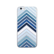 OTM Prints Clear Phone Case, Arrows Blue - iPhone 6/6S Plus