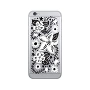 OTM Prints Clear Phone Case, Springtime Black & White - iPhone 6/6S Plus
