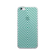 OTM Prints Clear Phone Case, Striped Green - iPhone 6/6S Plus