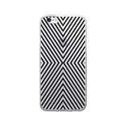 OTM Prints Clear Phone Case, Striped Black - iPhone 6/6S