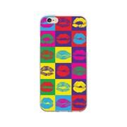 OTM  Prints Clear Phone Case, Hot Lips, iPhone 7/7S (OP-IP7V1CG-POP-07)