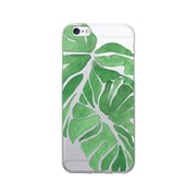 OTM  Prints Clear Phone Case, Palm Leaves Green, iPhone 7/7S (OP-IP7V1CG-A-45)