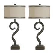Jenkins Lamp, Inc. Downing Sculpture 31'' Table Lamps (Set of 2)