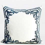 G Home Collection European Frame Embroidered Throw Pillow