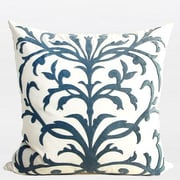 G Home Collection European Pattern Embroidered Throw Pillow