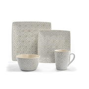 Tablescapes by Gaia Group LLC Calla 16 Piece Dinnerware Set