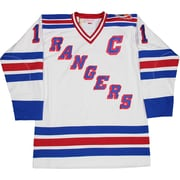 Steiner Sports Decorative Mark Messier Signed New York Rangers Authentic Mitchell and Ness Jersey