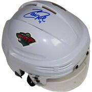 Steiner Sports Decorative Zach Parise Signed Minnesota Wild Replica Mini Helmet