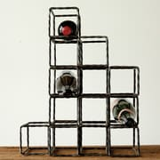 Creative Co-Op Sonoma 13 Bottle Tabletop Wine Rack