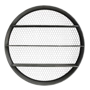 Creative Co-Op Collected Notions Round Metal Wall Shelf with Wire Back