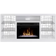 Dimplex Charlotte TV Stand with Electric Fireplace; Acrylic Ice