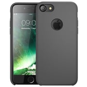 i-Blason Apple iPhone 7 Flexible Silicone Case - Gray (752454313716)