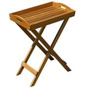 Cathay Importers Acacia Wood Butler Tray, Brown
