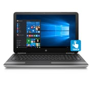 """HP Pavilion 15-AW017CA 15.6"""" Touch Screen Notebook, 2.5 GHz AMD A12-9700P, 1 TB HDD, 8 GB DDR4, Windows 10 Home"""