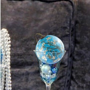 La Pastiche Blossom Hand Painted Glass Ornament