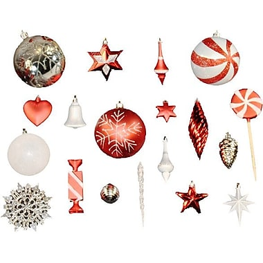 Queens of Christmas 98 Piece Mini Ornament Set