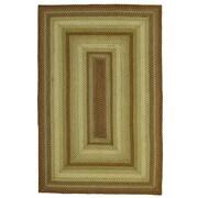 Homespice Decor Winter Wheat Green Indoor/Outdoor Area Rug; 8' x 10'