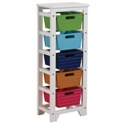 ACME Furniture Darvin Storage Rack w/ 5 Baskets