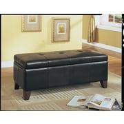 ACME Furniture Teton Upholstered Storage Bedroom Bench