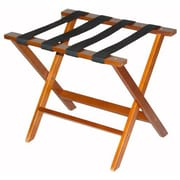 Central Specialties LTD Hardwood Series Wood Luggage Rack