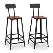 Belleze 29.5'' Counter Height Bar Stool (Set of 2)