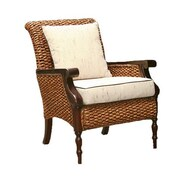 ChicTeak Water Hyacinth Milan Arm Chair