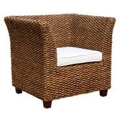 ChicTeak Water Hyacinth Rome Arm Chair