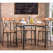 Wholesale Interiors Baxton Studio 5 Piece Pub Set